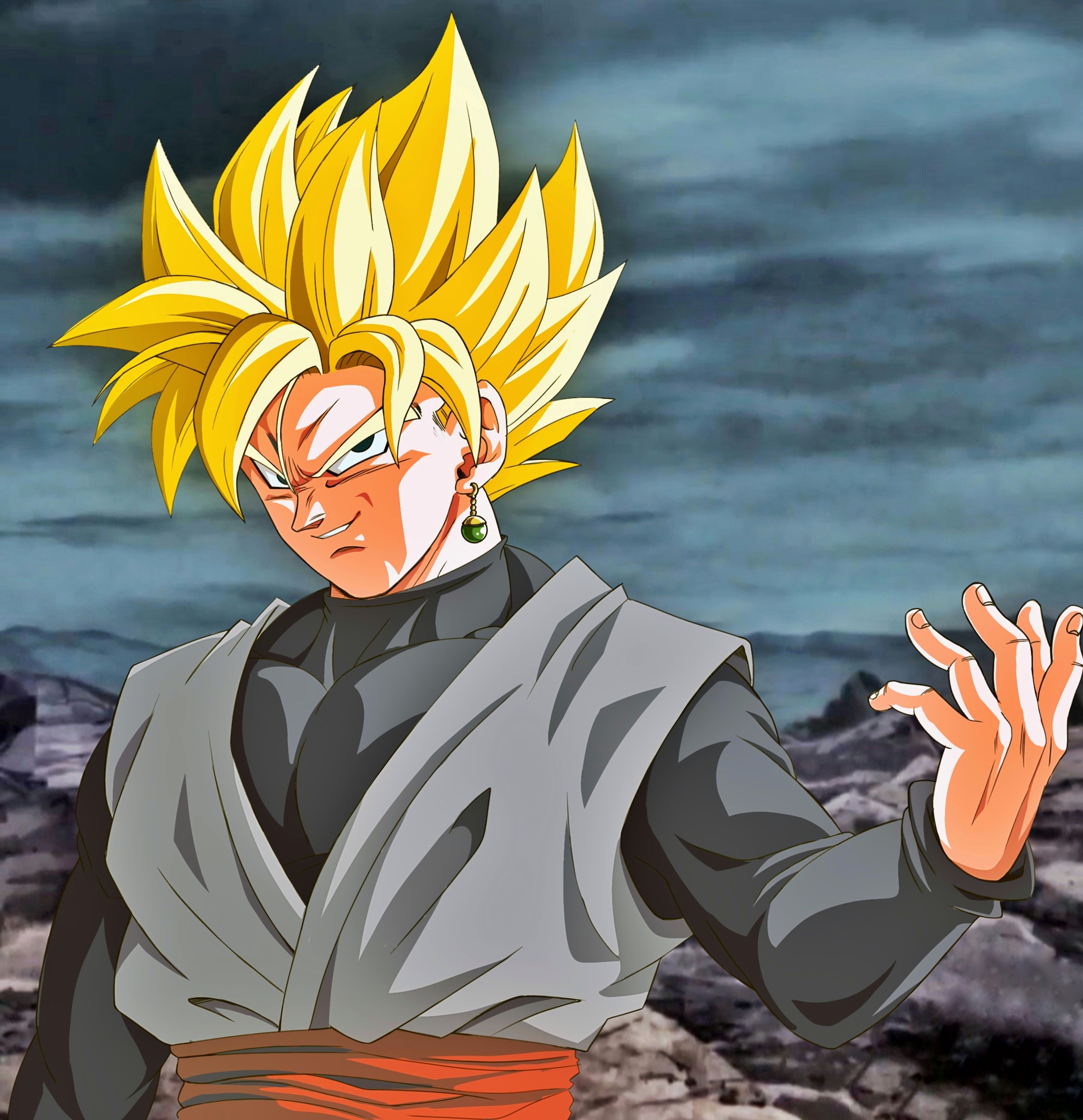 Black Goku Ssj Dragon Ball Image Dragon Ball Art Goku Black Ssj