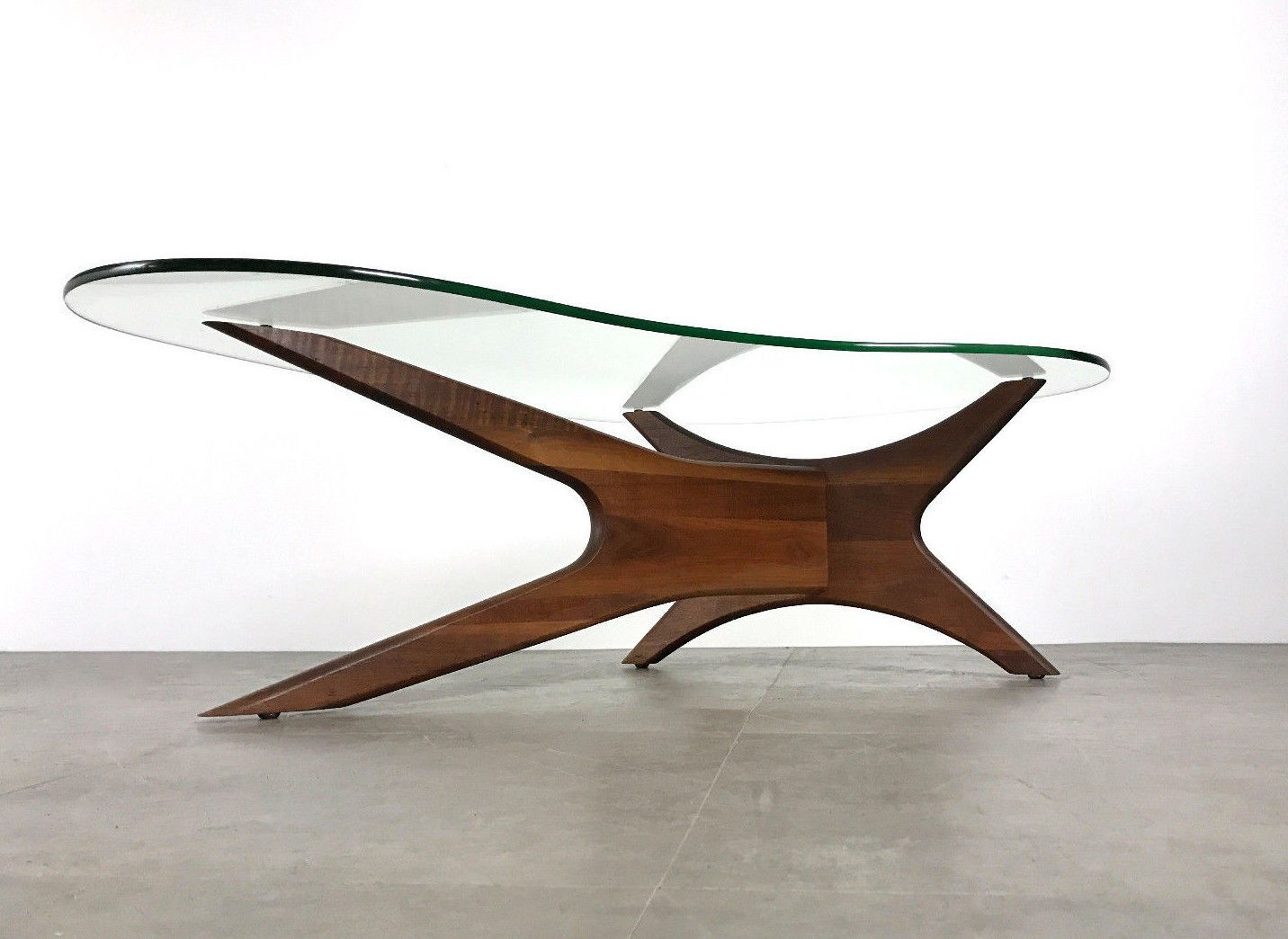Vintage Mid Century Modern Adrian Pearsall Boomerang Walnut Glass Coffee Table Ebay Mid Century Coffee Table Coffee Table Glass Coffee Table [ 1044 x 1432 Pixel ]
