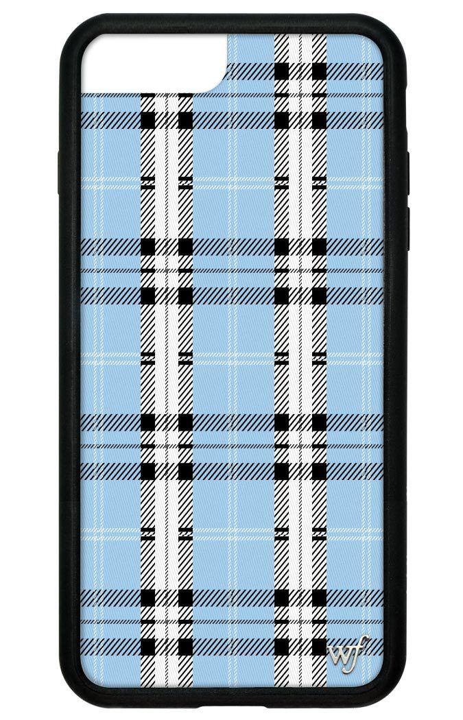 Blue Plaid iPhone 6+/7+/8+ Plus Case Cheap phone cases