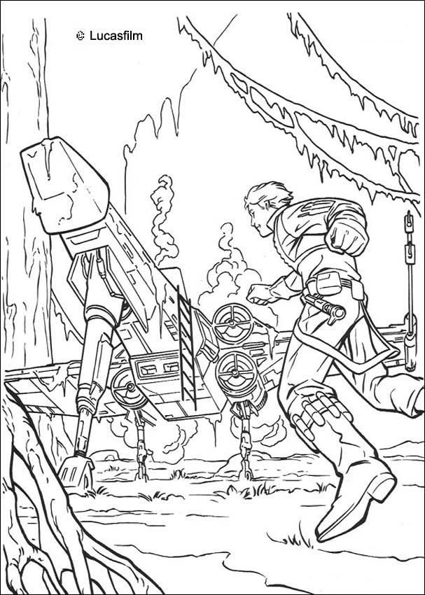 Star Wars coloring pages 22 | Blog: Coloring Pages--SW | Pinterest ...
