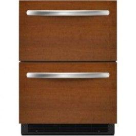 Architect II 5.1 Cu. Ft. Custom Panel Undercounter Built-In Drawer Refrigerator - Energy Star