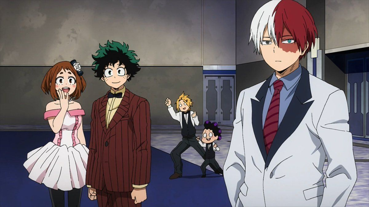 My hero academia the movie two heroes in