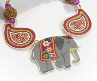 Print Bold Indian Themed Motifs Onto Shrink Plastic To Create This Striking  Set