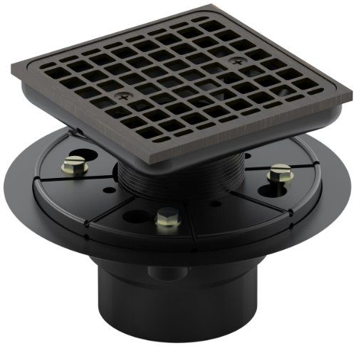 Kohler K 9136 2bz Tile In Square Shower Drain Oil Rubbed Bronze