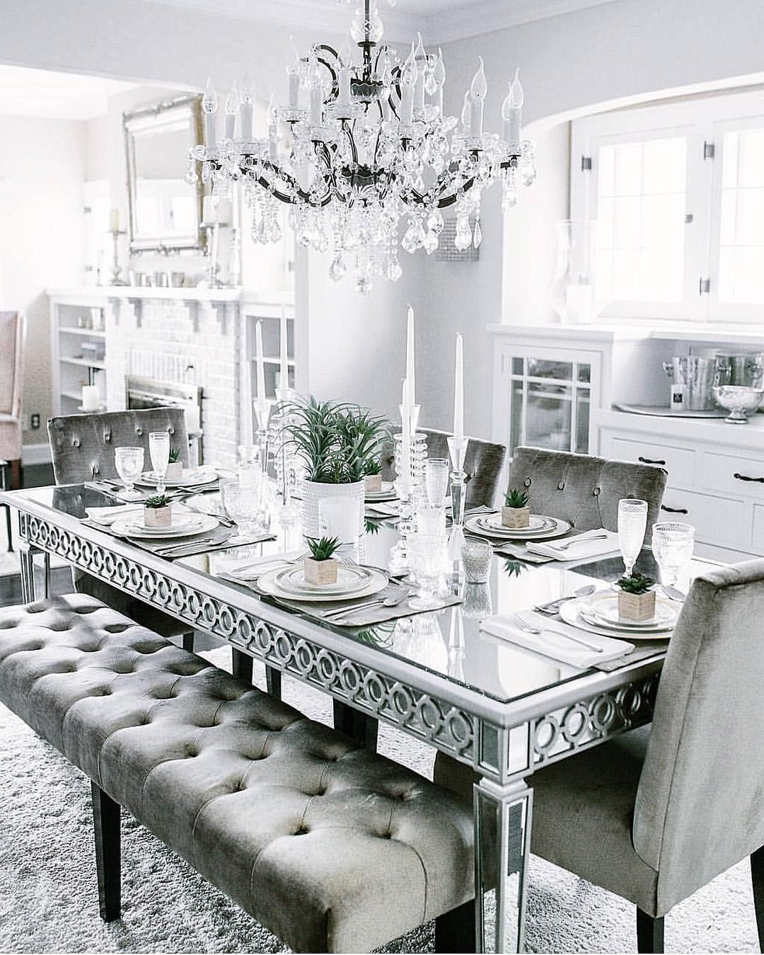 Inspire Me Home Decor On Instagram Such A Glam Set Up Thank