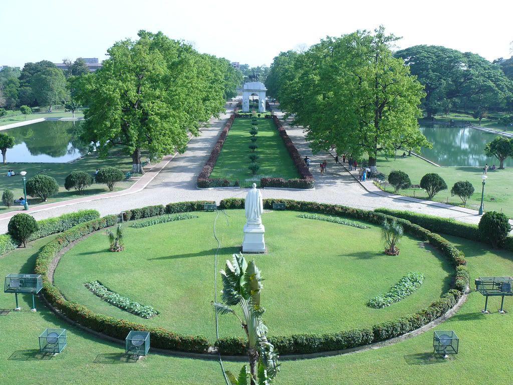 Central Park & King Edward VII Memorial Arch 1921. Calcuta 80