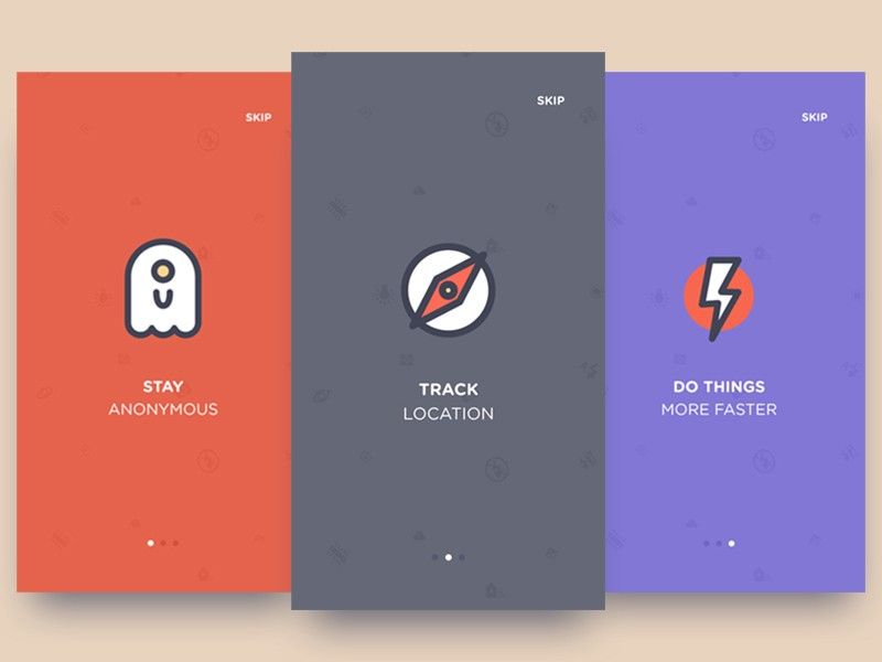 App Design Ideas thrillophilia mobile app Onboarding Inspiration For Mobile Apps