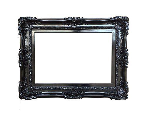 20x24 Baroque Black Frame - Ornate Wall Mirror - Shabby C... https ...