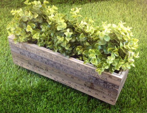 "Shabby Chic, Distressed ""Ruler"" Wood Planter with Plastic Liner Green Planet Naturals http://www.amazon.com/dp/B00IXXX8QY/ref=cm_sw_r_pi_dp_7sDMtb0R7CM7VR3Y"