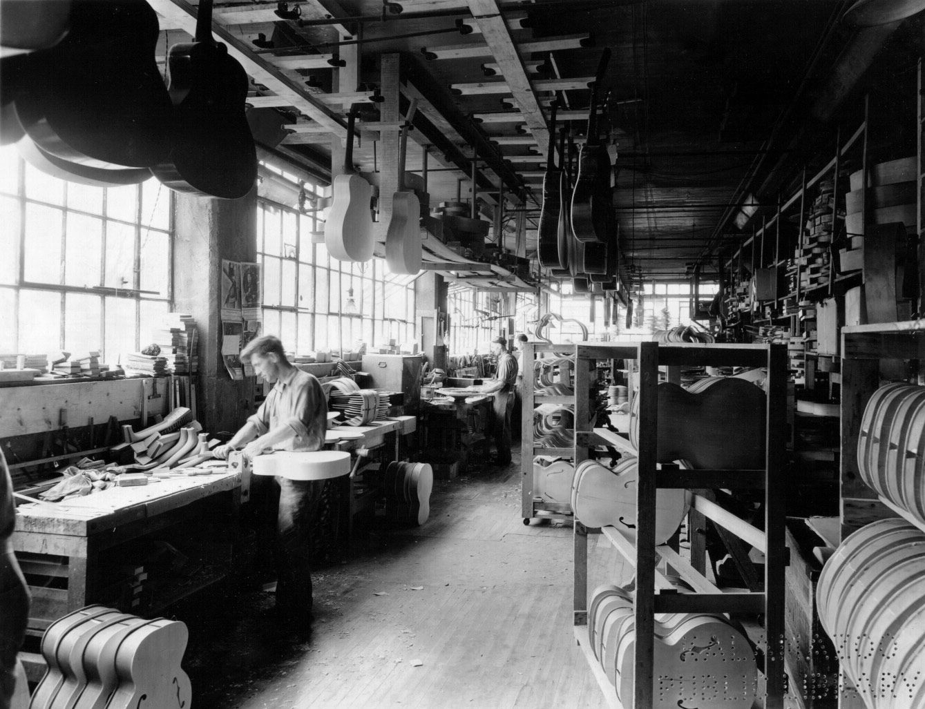 50 S Gibson Factory Photos Les Paul Forum Kalamazoo Michigan