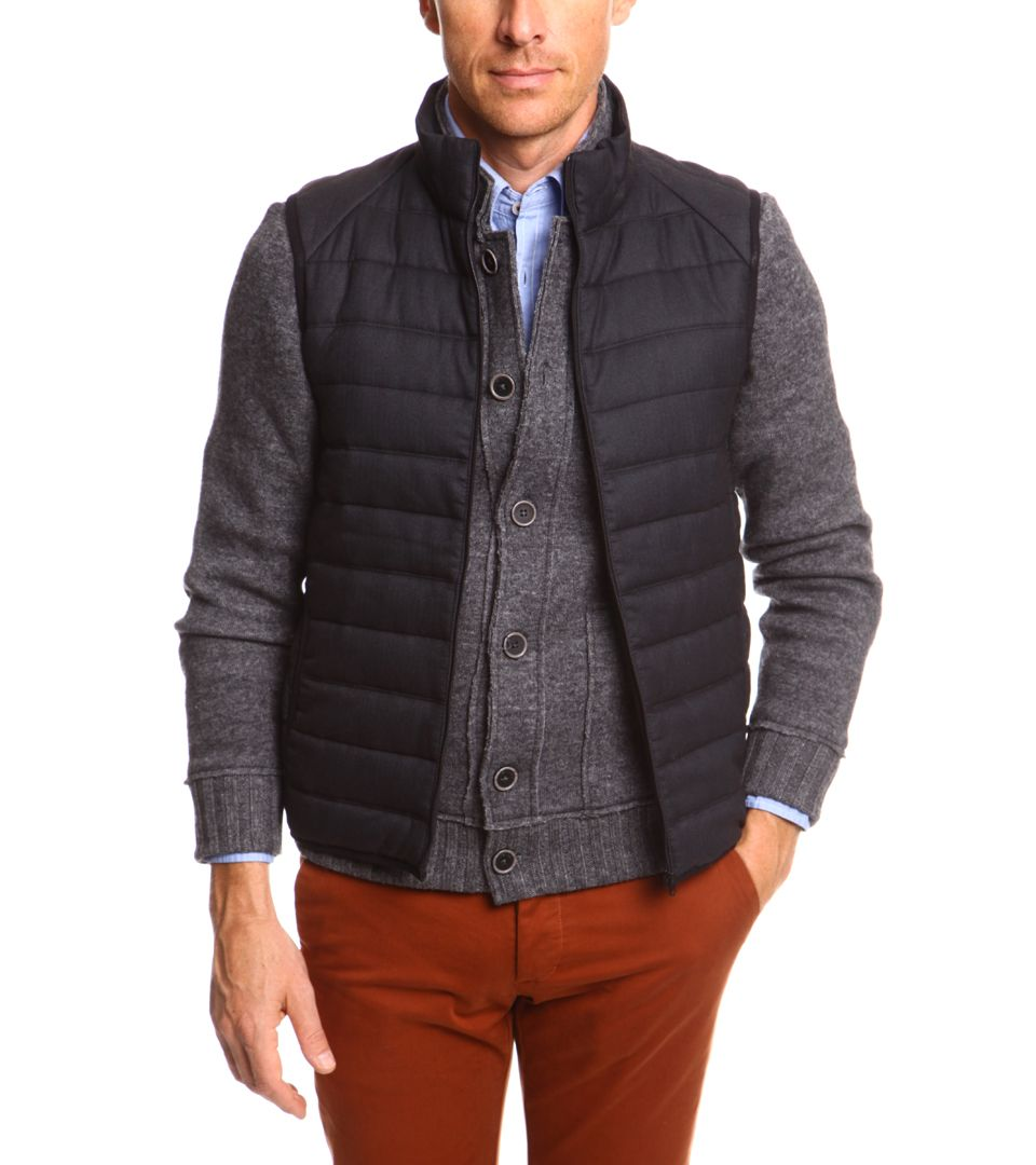 1f895b5cd31c Gilet sans manche homme casual tweed Homme - DEVRED 1902   Chéri   Style