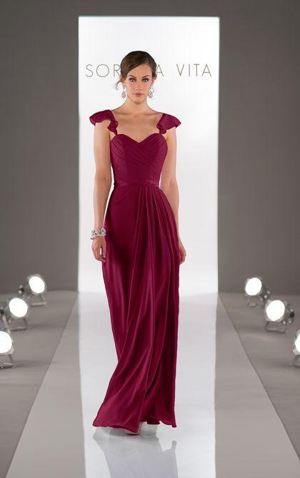 vestido mae noiva vermelho marsala | Vestido querido