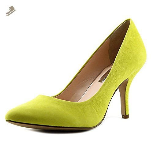 INC International Concepts Womens Zitah Pointed Toe Chartreuse Size 12.0