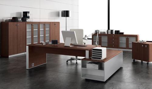Serie Lider, mobiliario de direccin, mesa de despacho para ...