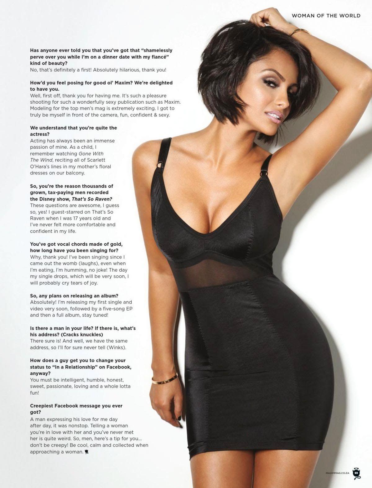 Nazanin mandi for maxim magazine south africa april sheus