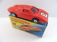 Matchbox Superfast 27b Lamborghini Countach Red No 3 Mint Boxed