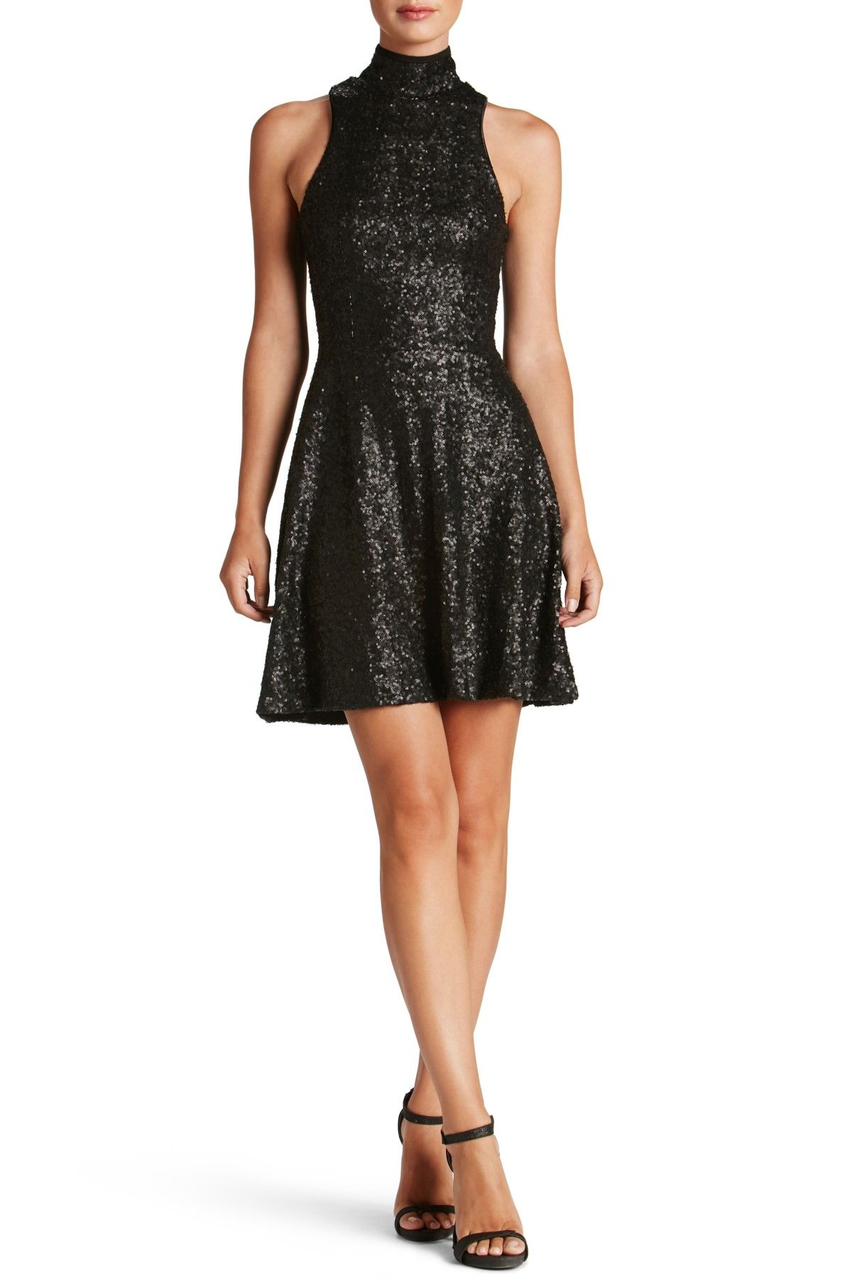 3f9d5f1276a4 Stevie Sequin Fit & Flare Dress | Products | Dresses, Nordstrom ...
