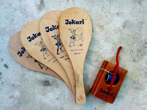 jeu français pour enfant Jokari raquettes en par LegrenierdAlphonse