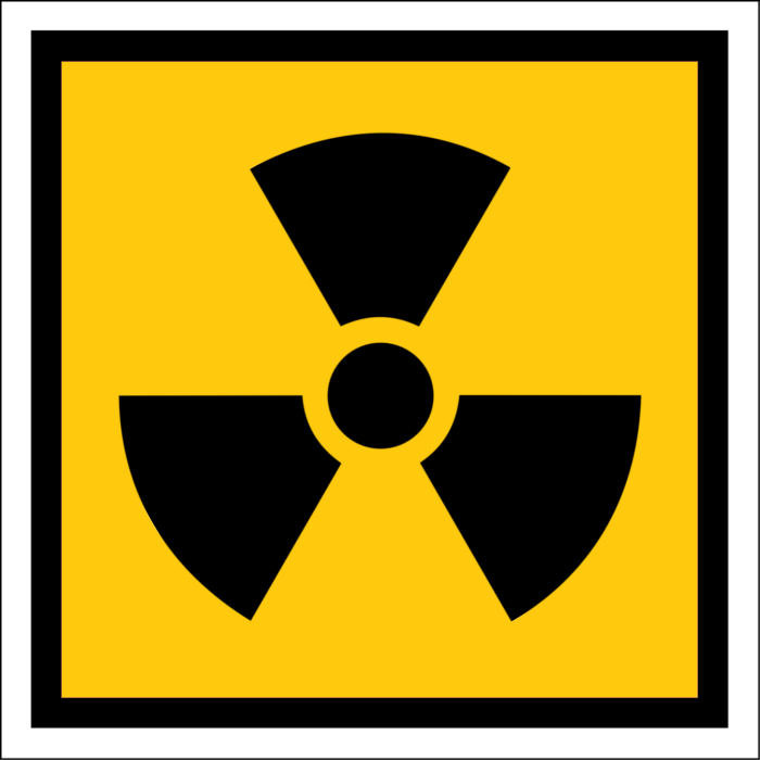 Radioactive Emblem Nuclear Disasters Nuclear Power Station Japan Nuclear