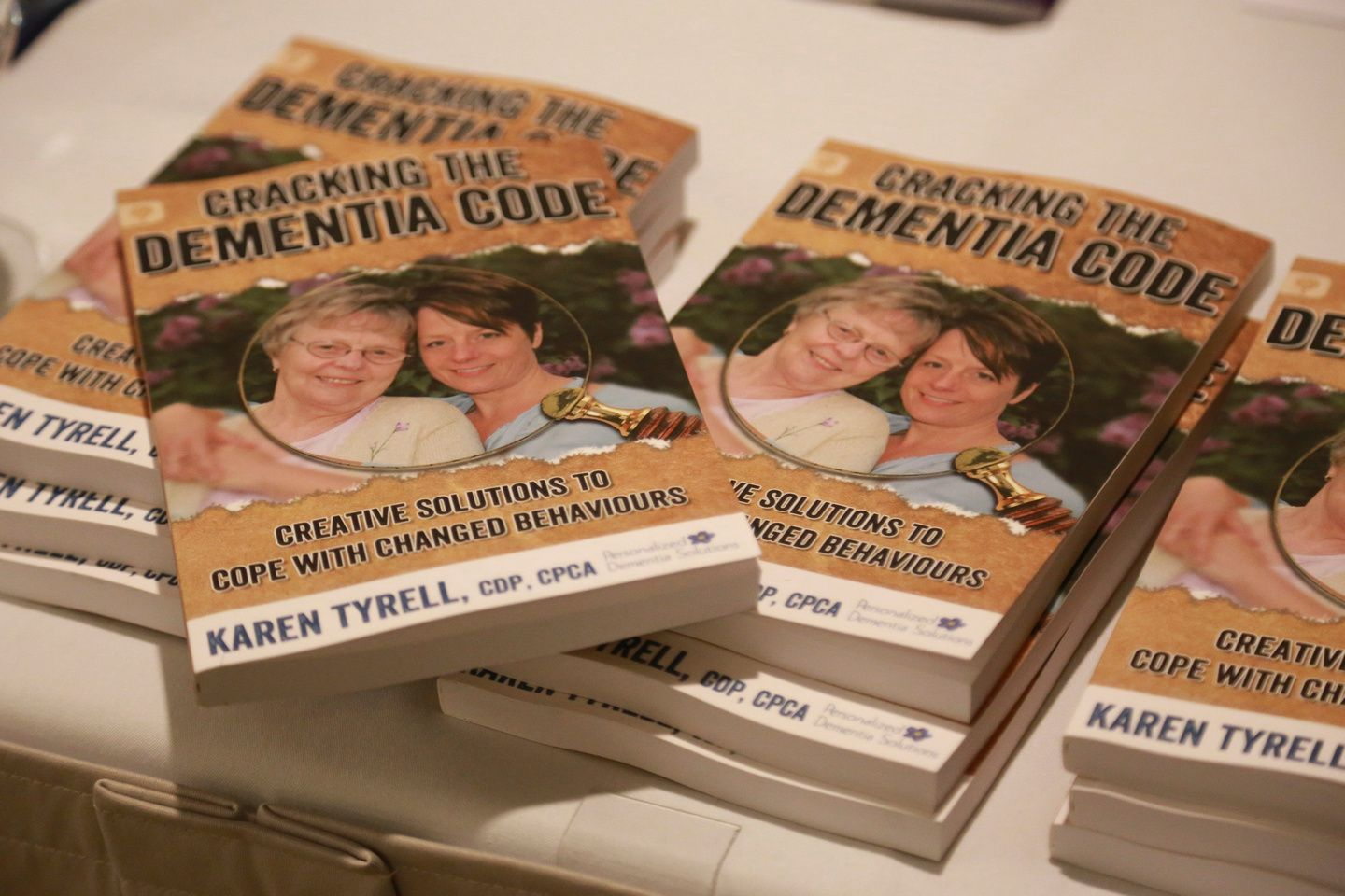 Newly released book cracking the dementia code to