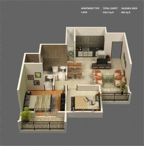 Pingrabiella Lucas On Sims 4 Lets Build  Pinterest  Sims Entrancing 2 Bedroom House Interior Designs 2018
