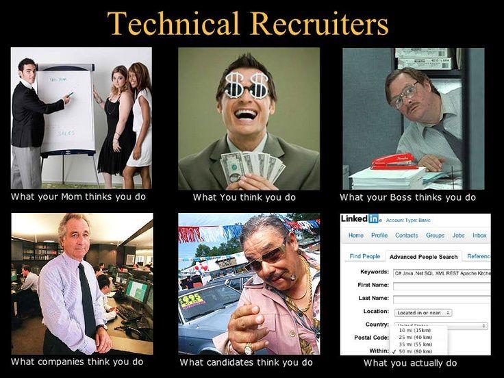 Tech Recruiters Hulp Nodig Bij Het Werven Van Nieuwe Medewerkers Www Recruitmentwise Nl Online Recruitment Marketeers Recruiter Humor Work Humor Hr Humor