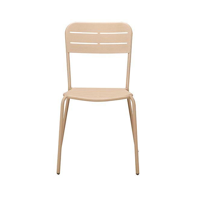 Honfleur Chaise De Jardin En Fer Couleur Muscade Chaise De