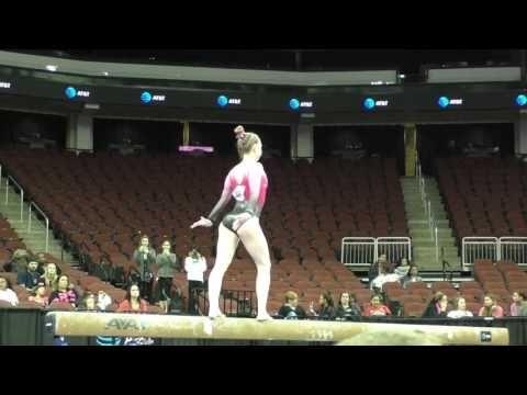 Nastia Liukin Cup - Natalie Wojcik Beam - 1st place routine