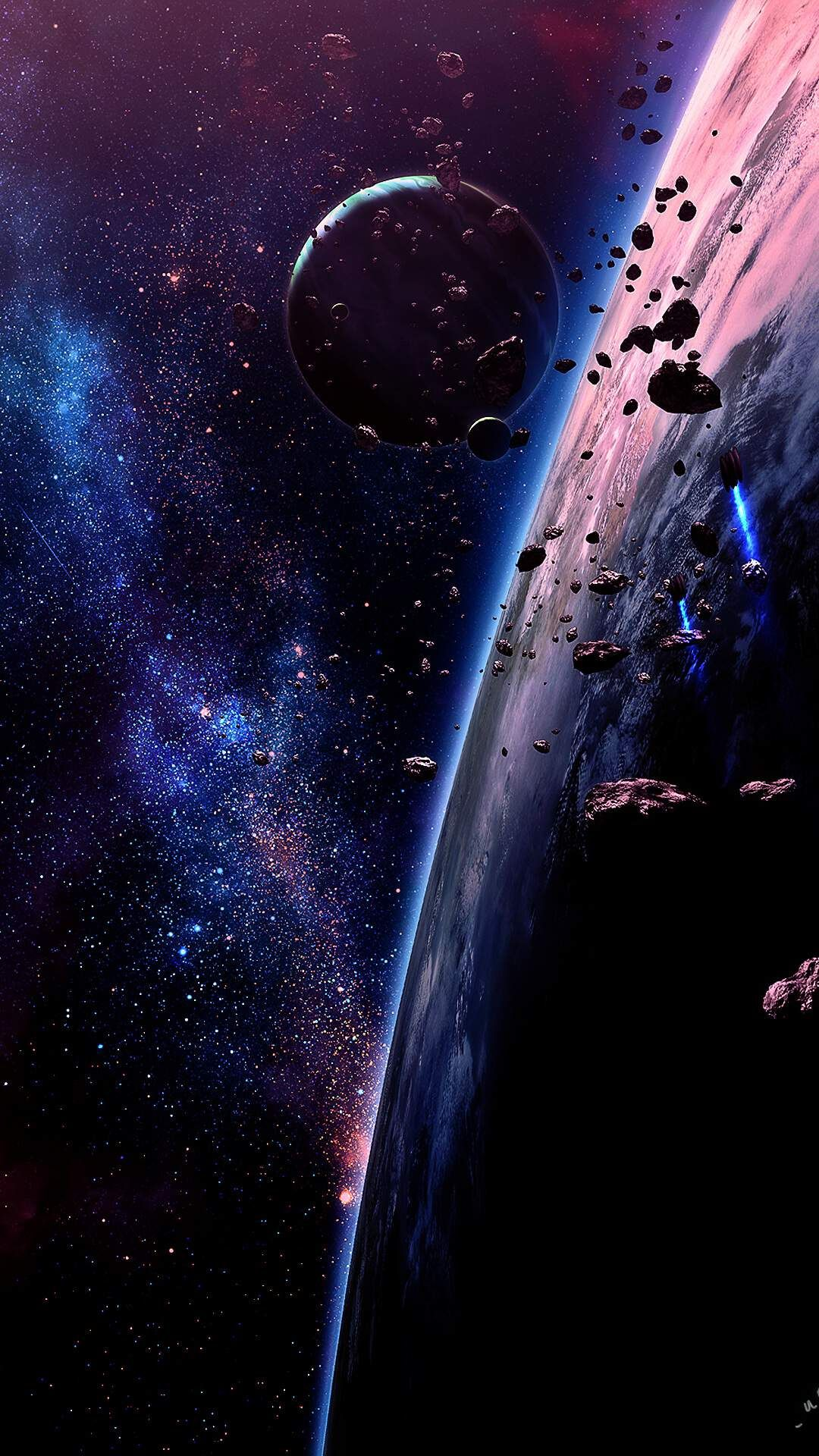 Get Best Space Phone Wallpaper HD This Month by iphoneswallpapers.com