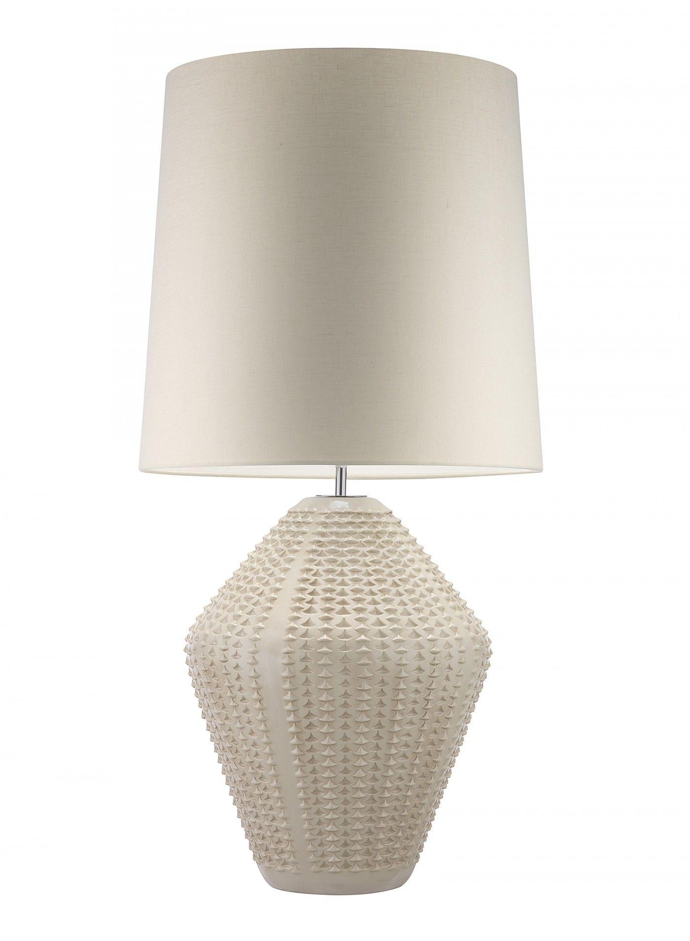 Regina Andrew Harlow Lamp Ivory Grey