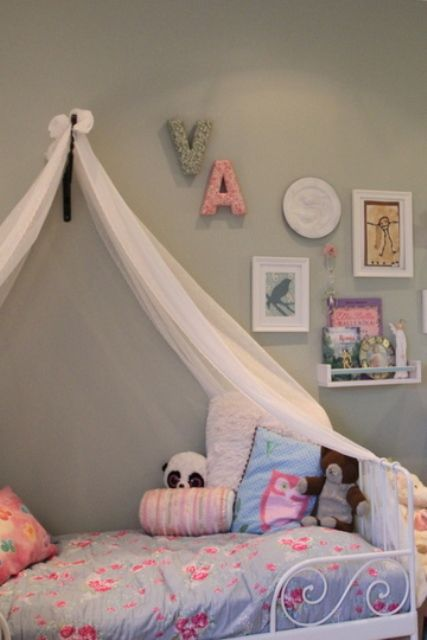 Sweet And Tender Room Interior For A 6-Year-Old Girl | Kidsomania ...