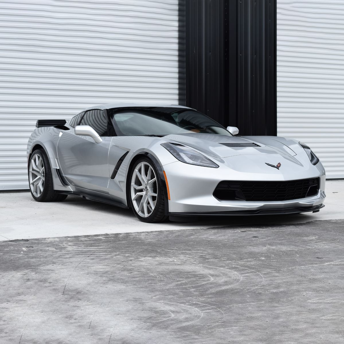 Gm Rear Widebody Coupe Z06 Scoop W Rear Bumper Chevy Corvette