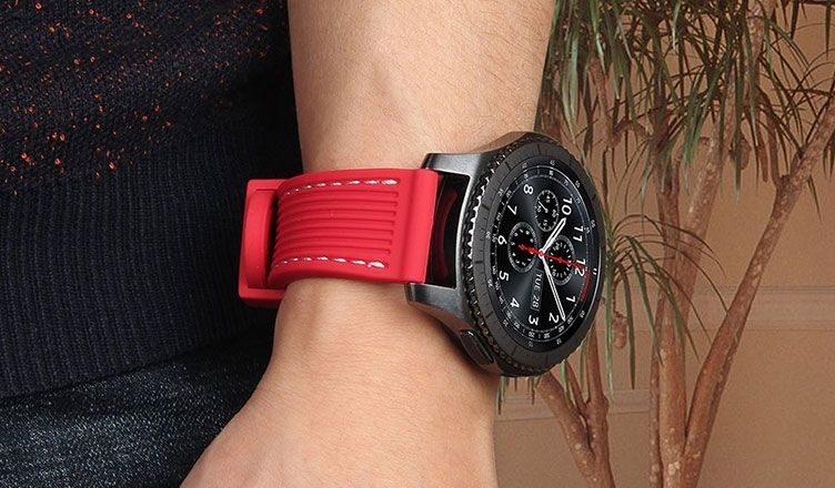 Searching For Best Samsunggears3 Bands Check Out An List Of Third Party Replacement Straps For Samsung Gear S3 Frontier And C Classic Watches Band Samsung