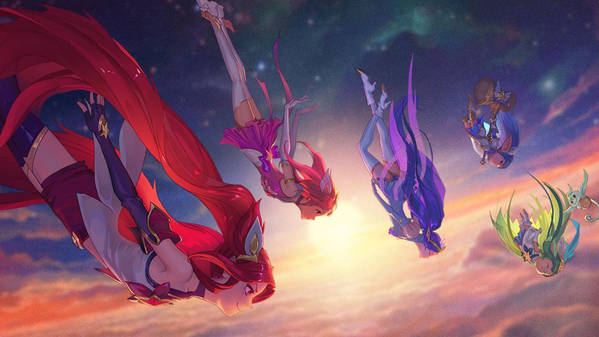 League Of Legends Star Guardian Wallpapers Credit To All Original
