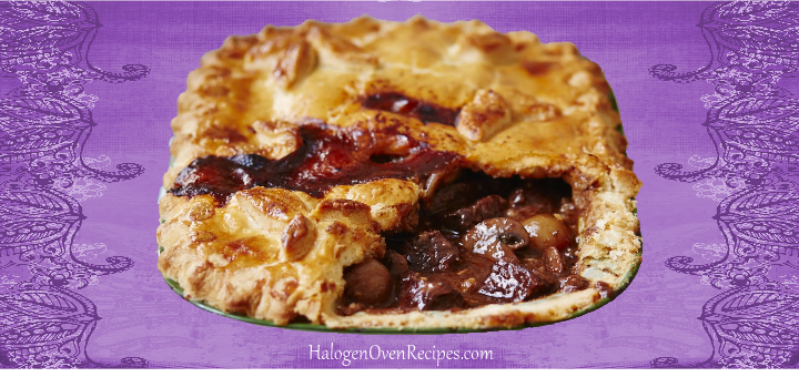 Steak and Oyster Pie - Halogen Oven Recipes | Halogen oven ...