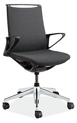Plimode Office Chair In Black Modern Office Chairs Task Chairs