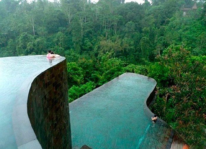 As 10 Piscinas Mais Bonitas Do Mundo Com Imagens Ubud Hanging