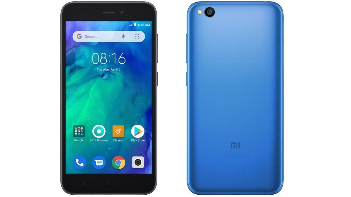 Xiaomi Launches Redmi Go 16gb Storage Variant In India Entry Level Smartphone 16gb
