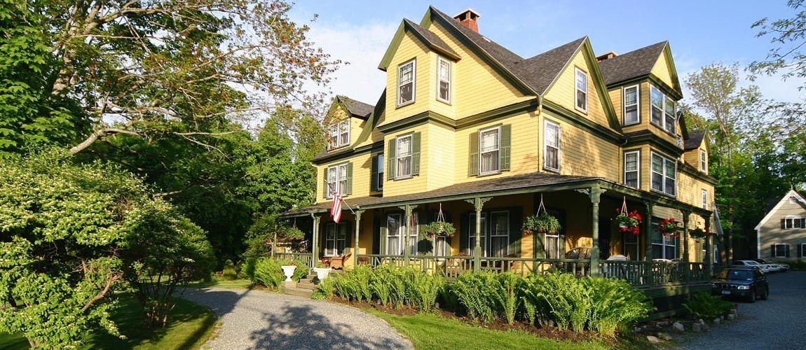 Bar Harbor Maine Bed Breakfast Manor House Inn pinned