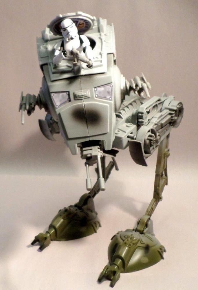 4 pièces Star Wars Micro Machine Imperial Endor lot-AT-ST-Chicken WALKER