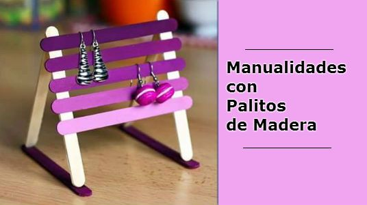 Crea bonitas manualidades con palitos de madera - Manualidades con palitos ...