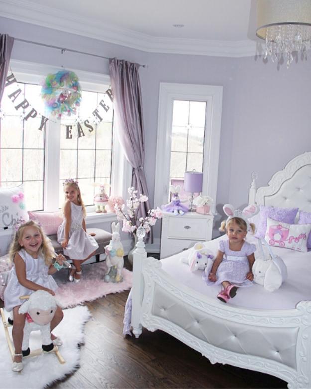 Lovely Lavender Fairytale Girl S Bedroom Girl Bedroom Decor