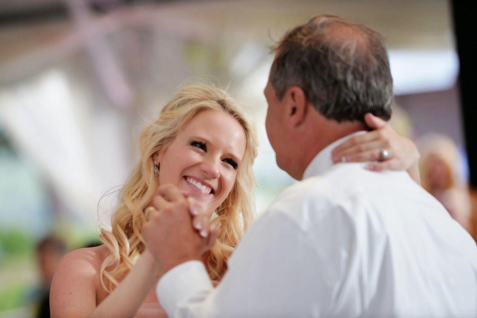 Wedding Recap: The Reception. Father daughter dance. Wedding photography.