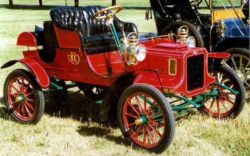Reo Car: 1906 REO Model B Runabout