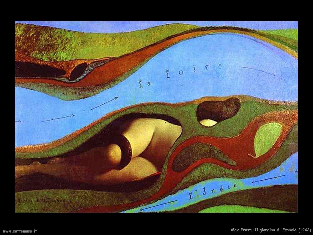 Max Ernst, Il giardino di Francia