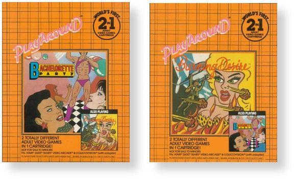Diversão adulta em Playaround para Atari 2600.