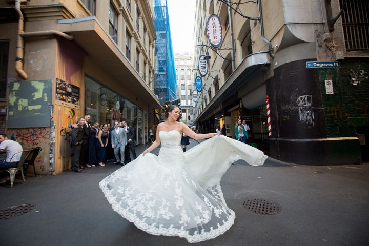 Classic White And Jewish Wedding In Melbourne