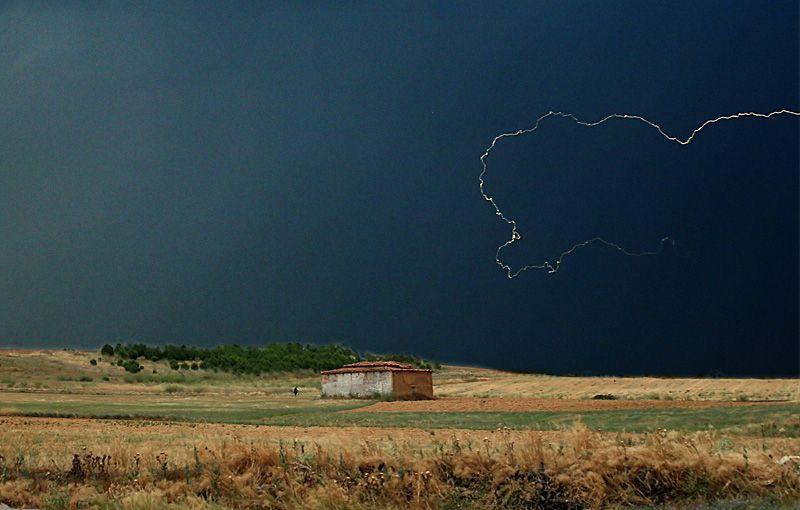 Tormenta Y Palomar En Tierra De Campos Paisaje Rural Paisajes Fotografía De Naturaleza