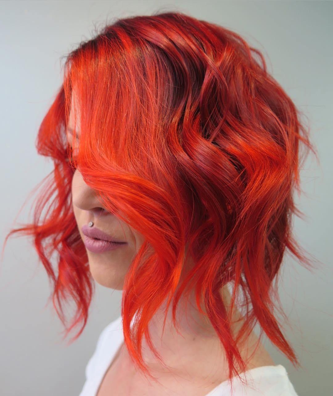 best hair colors for springsummer season wavy bobs bobs