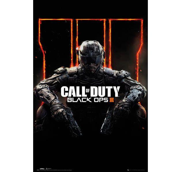 Call of Duty Poster Black Ops III Cover. Hier bei www.closeup.de